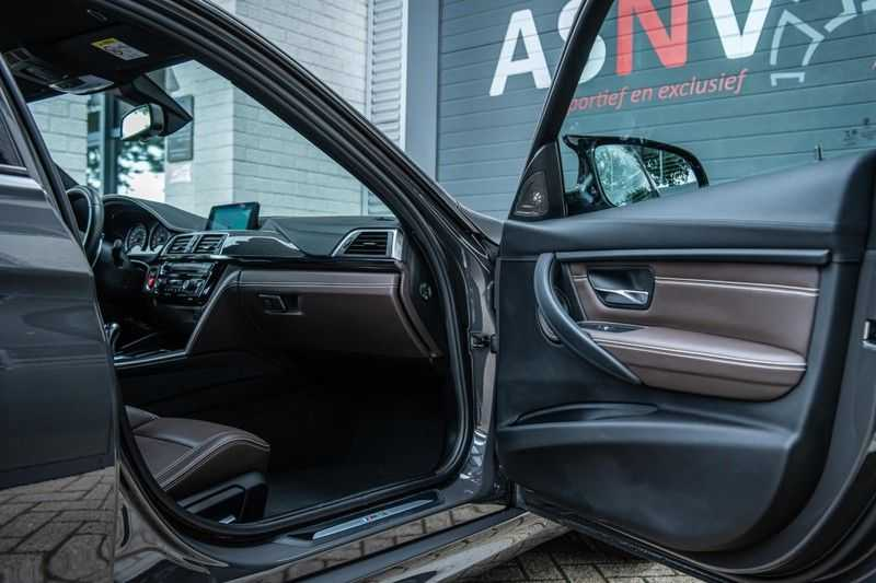 BMW 3 Serie M3 Competition DCTA, 450 PK, Facelift, Akrapovic, Harman/Kardon, Head/Up, LED, Surround View, Carbon, 2017, Org. NL!! afbeelding 2