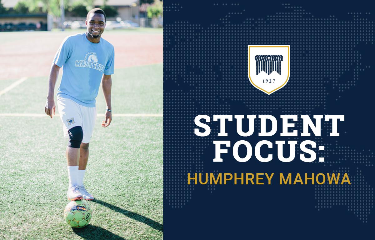 Student Focus: Humphrey Mahowa image