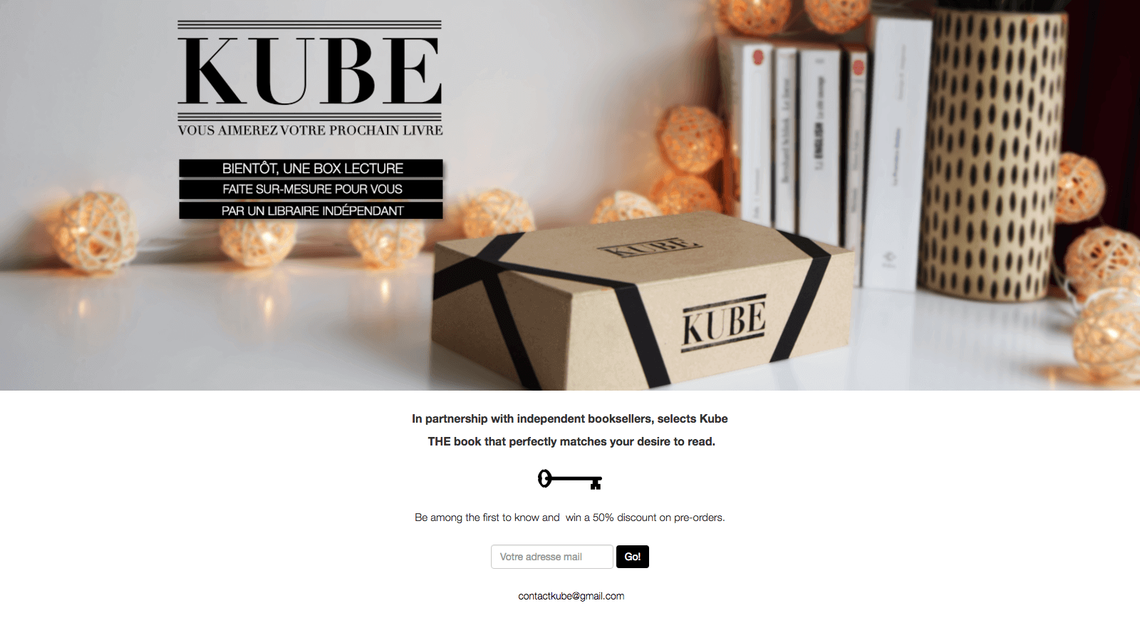 "Kube collects 30K emails by ""faking it before making it"