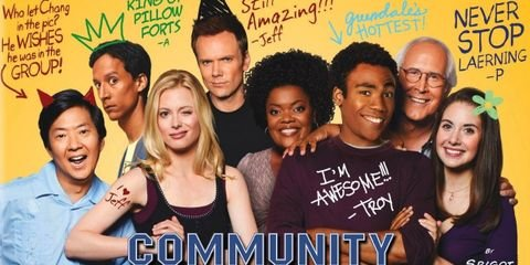 Dress like Jeff Winger, Annie Edison, Britta Perry, Troy and Abed in the Morning & Alien Abed from Community TV Series.