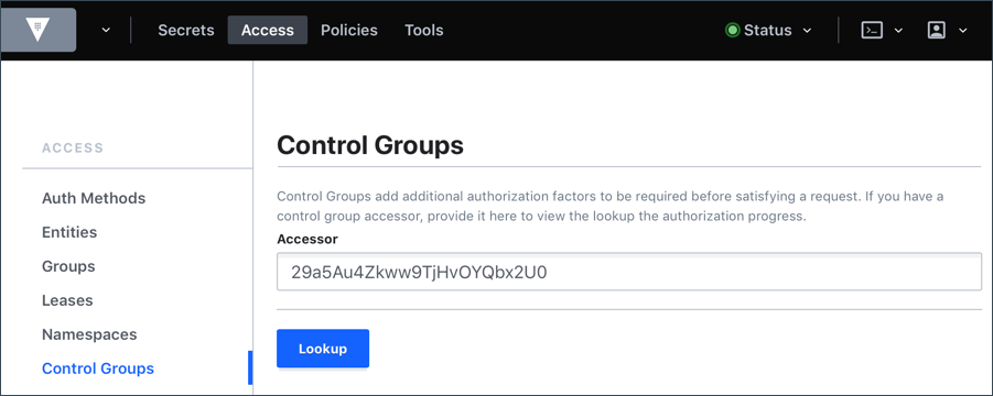 Control Groups