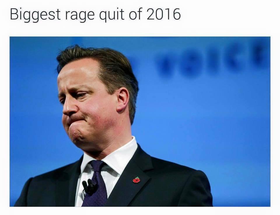 Biggest Rage Quit of 2016