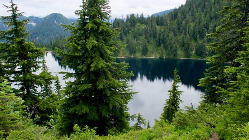 A view of Lake Vahalla