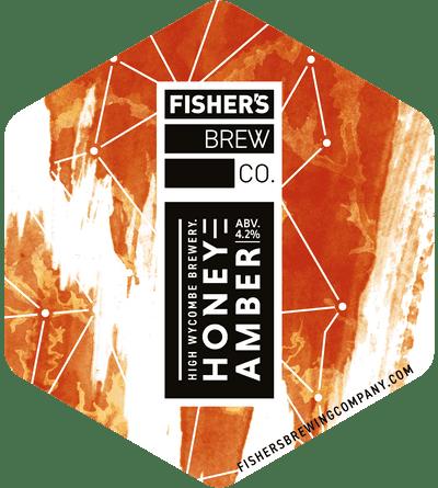 Fisher's Honey Amber pump clip