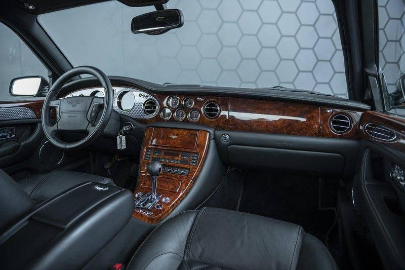Bentley Arnage 6.8 V8 T Mulliner Black badge + Mulliner + Recent onderhoud afbeelding 3