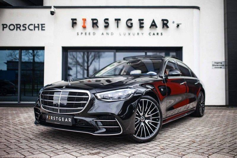 "Mercedes-Benz S-Klasse 500 4Matic Lang AMG NP €193.000 *Pano / 3D Burmester / HUD / Distronic / 21"" / 3D Display* afbeelding 1"