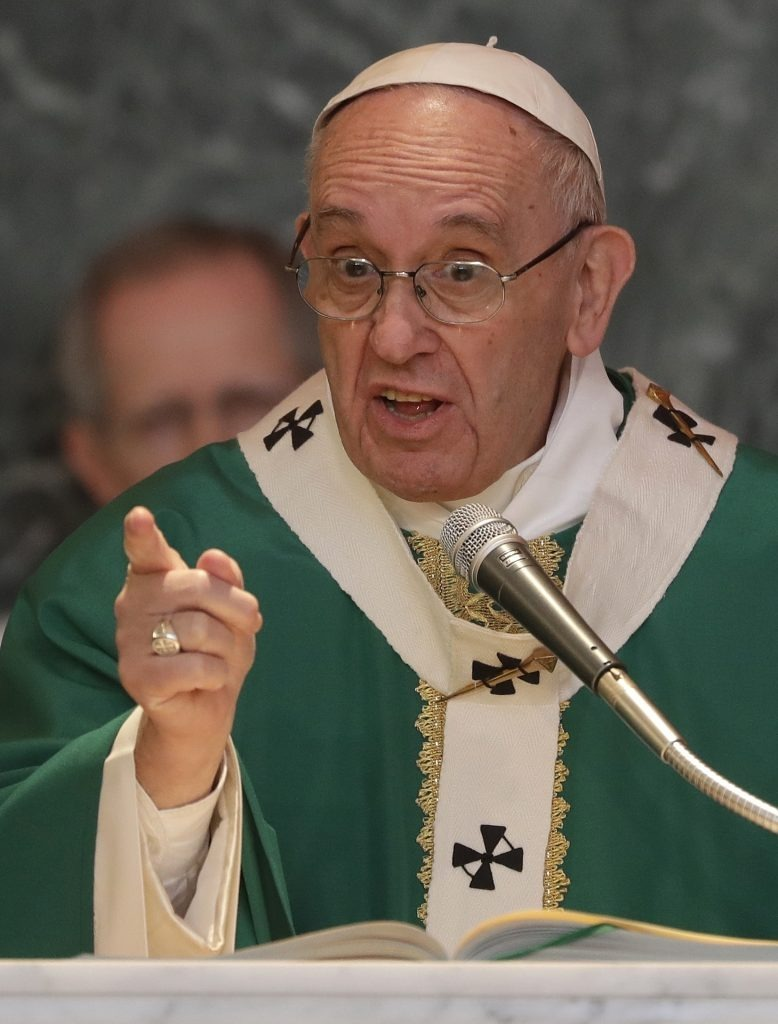 Pope Francis taking on the Catechism