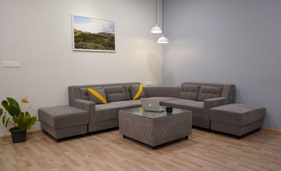 Sofa corner of the living room