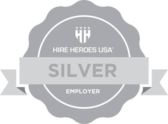 Hire Heros Silver Badge