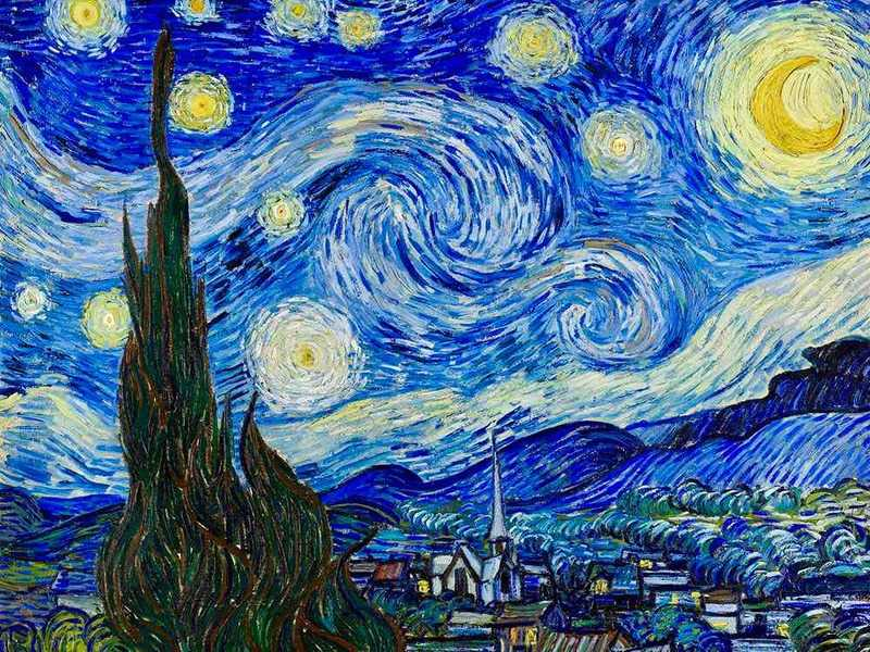 Van Gogh's Starry Night is the subject of Don McLean's eponymous song