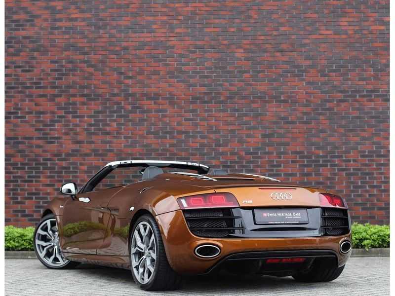 Audi R8 Spyder 5.2 V10 FSI *Magnetic Ride*B&O*Camera* afbeelding 9