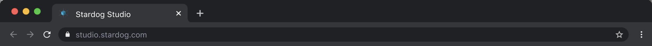 studio browser tab