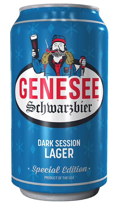 Genesee Schwarzbier can