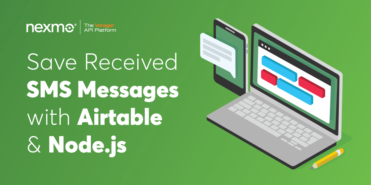 Save Received SMS Messages With Airtable and Node.js