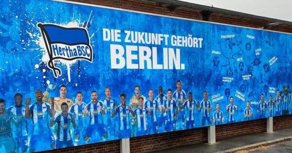 ヘルタ・ベルリンのポスター