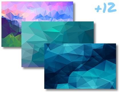 Triangles theme pack