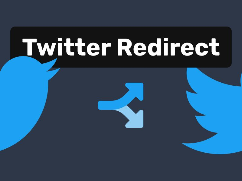 Twitter Redirect