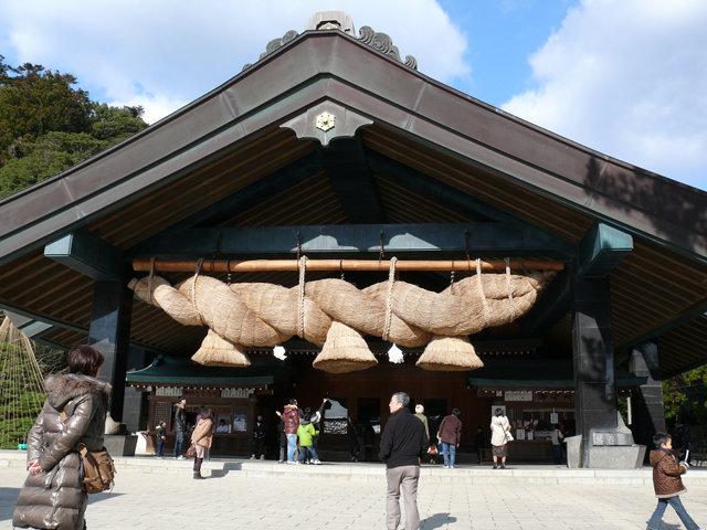 出雲大社神楽殿 Kaguraden of Izumo Oyashiro