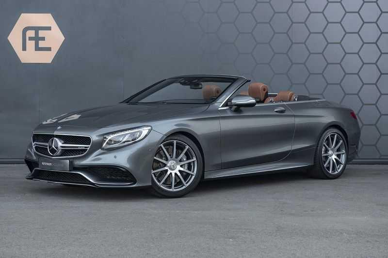 Mercedes-Benz S63 Cabrio 63 AMG 4Matic DISTRONIC + BTW + BURMESTER afbeelding 1