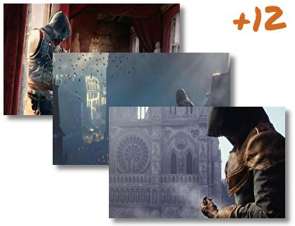 Assassins Creed Unity theme pack