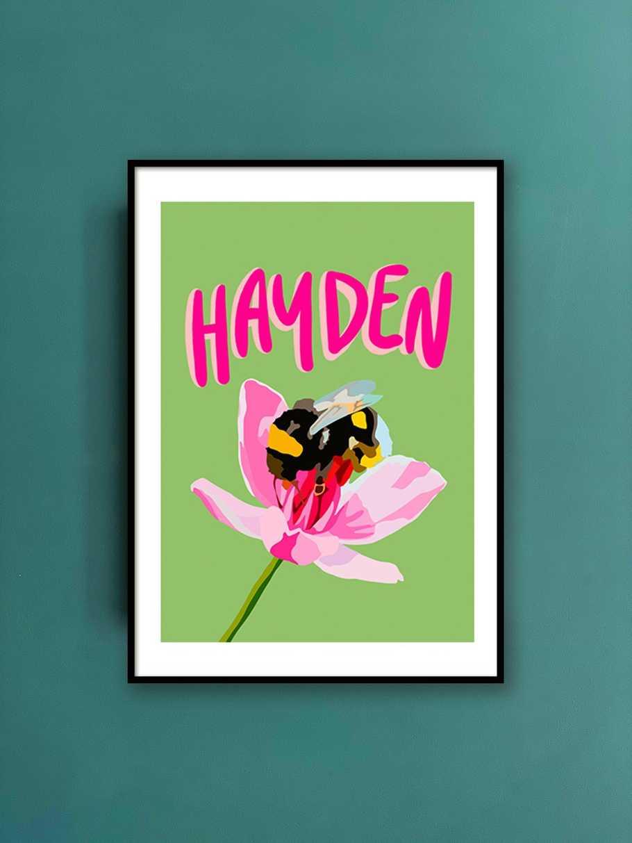 personalised-print-bumblebee