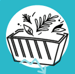 Icône déchets verts