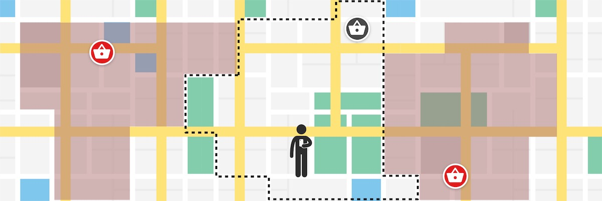 Delivery And Trading Areas: Put Your Users In Touch With Your Stores