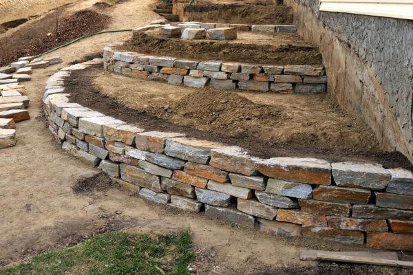 Rock Walls, Stone Patios, & Sidewalks/Walkways