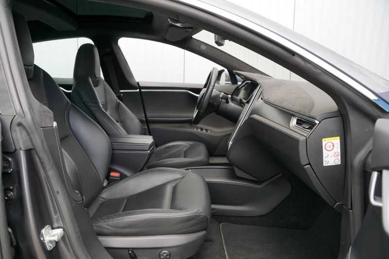 Tesla Model S P90D Performance Ludicrous 576pk / Autopilot / Pano / 21inch / Carbon / 162.500,- Nieuw afbeelding 8