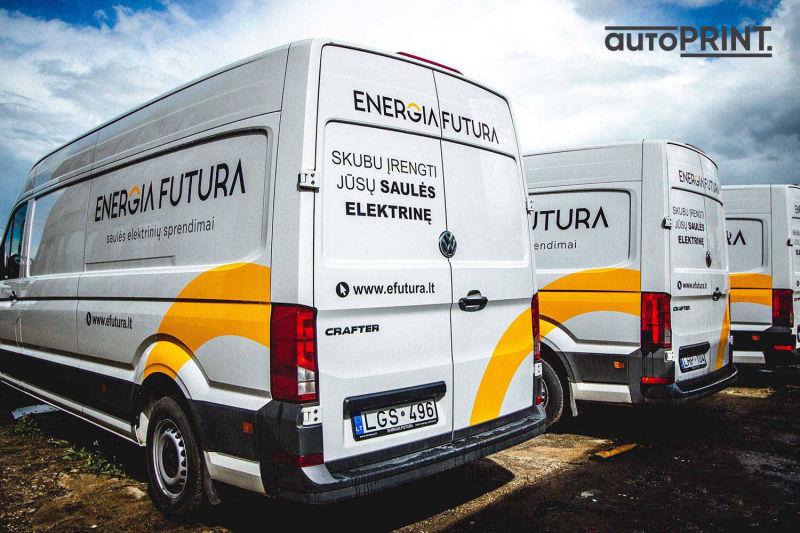 Energias apklijuoti autobusiukai