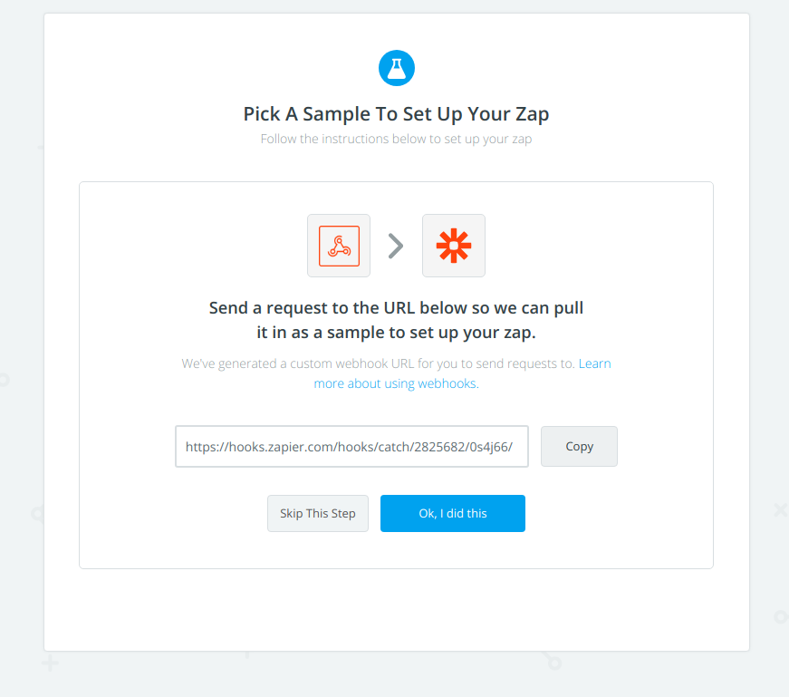 Zapier Test Webhook