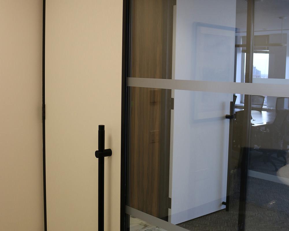 Zenith Series Sliding Wood Door with painted veneer