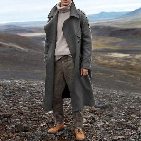Manteau d'hiver homme long