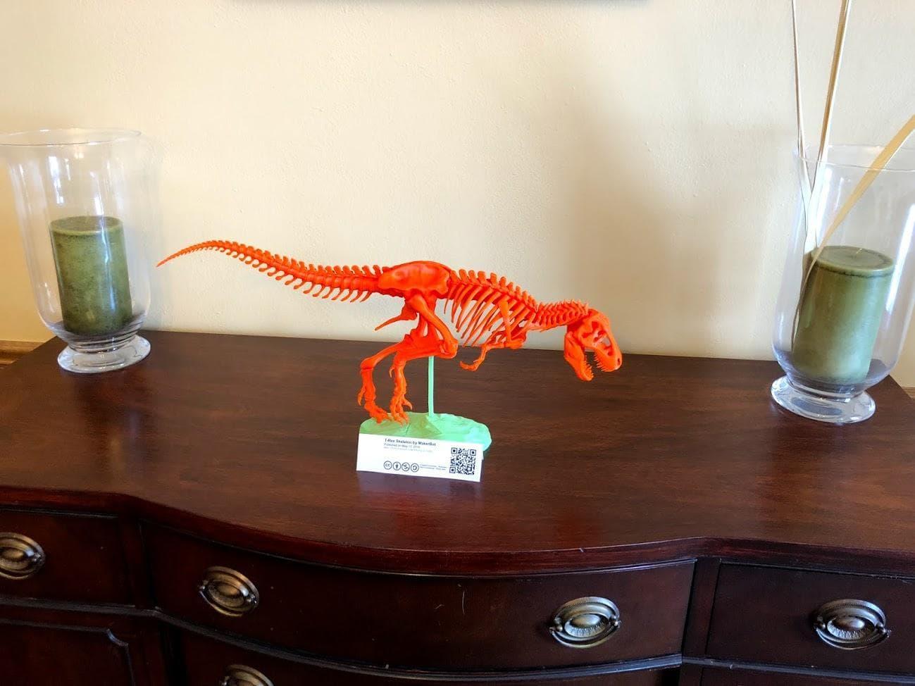 dinosaur assembled!