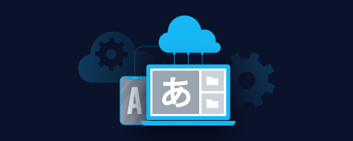 Using a cloud server for translation