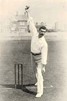 Tom Richardson bowling