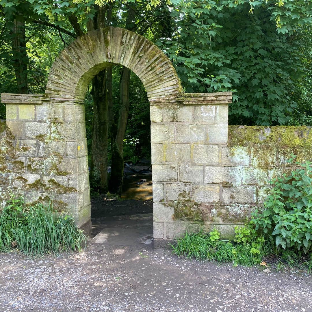 Meanwood Park path under archway