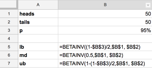 """Google Sheet BETAINV"""