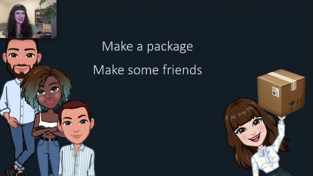 Make a package - Make some friends