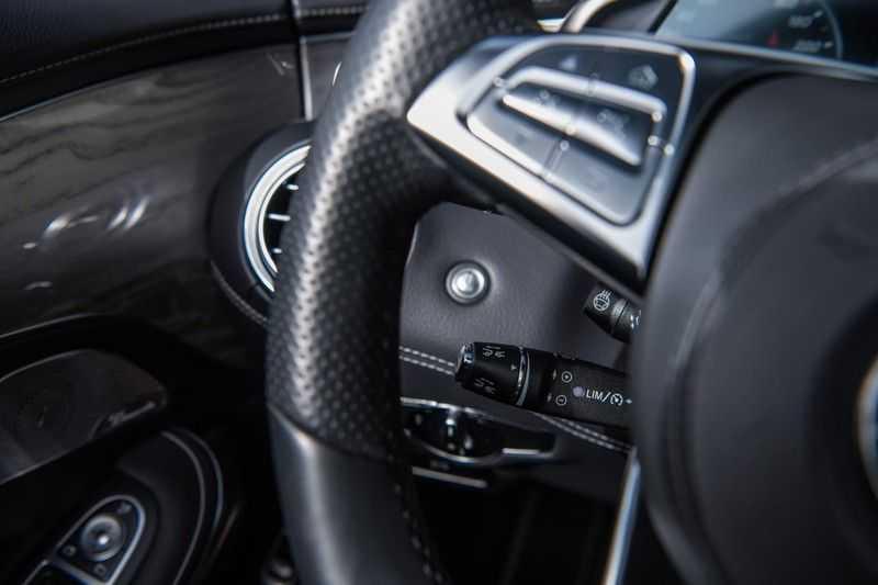 Mercedes-Benz S-Klasse Cabrio 500 , 456 PK, AMG/In/Exterieur, Swarovski, Head/Up, Airscarf, 29DKM, NIEUW!! afbeelding 17