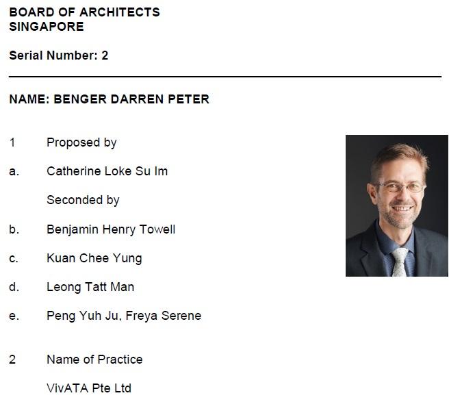 Benger Darren Peter