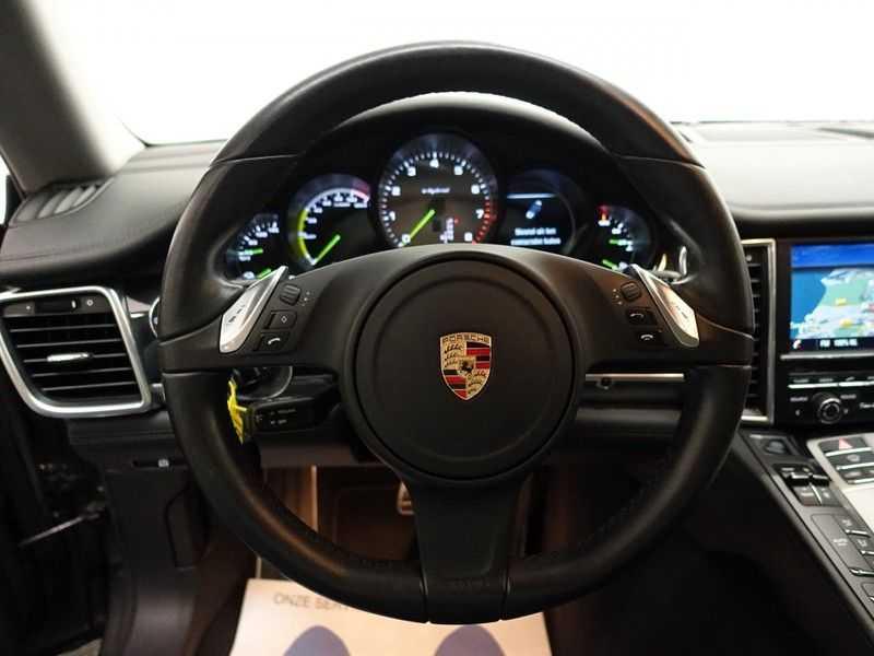 Porsche Panamera 3.0 S E-Hybrid 334pk Turbo Sport Uitv! Leer, Schuifdak, Navi, Xenon Led afbeelding 15