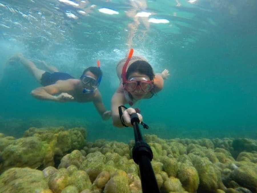 five destinations koh phi phi diving couple