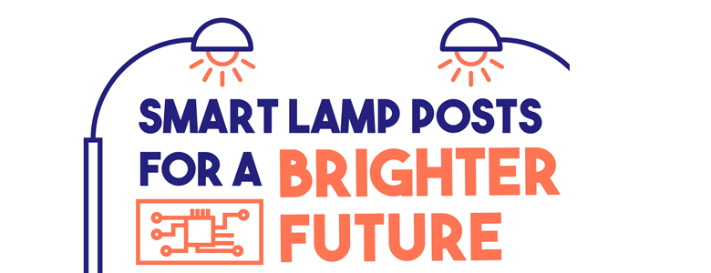 Infographics of Smart Lamp Posts