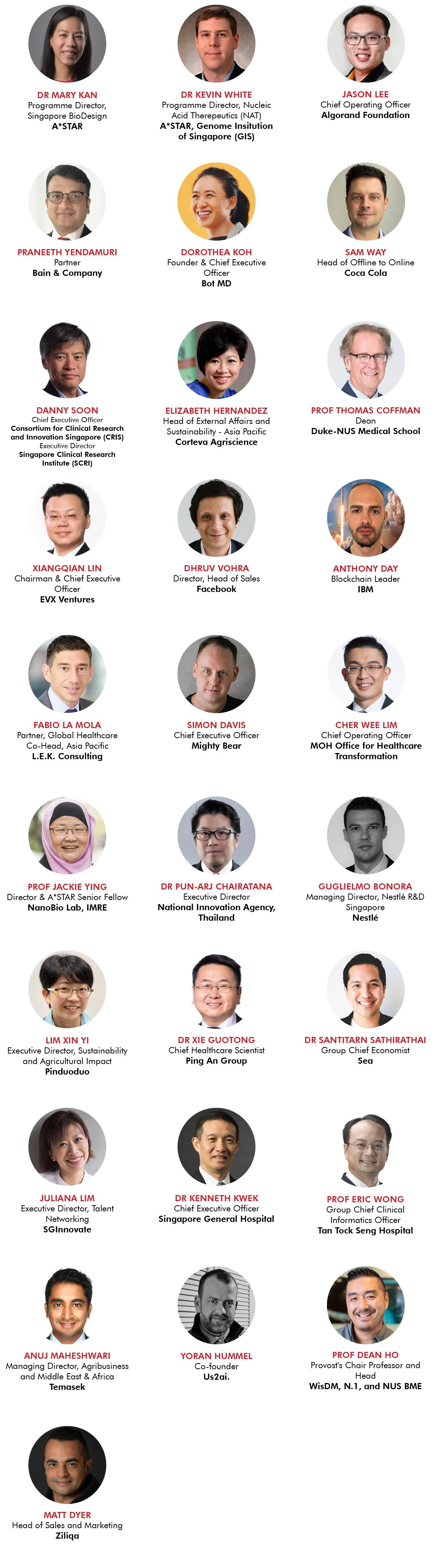 SWITCH 2021 Speakers