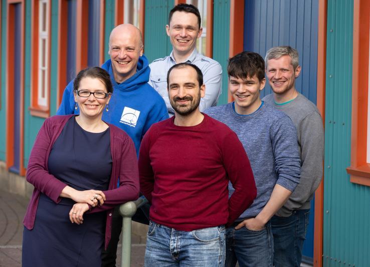 We won The Open University in Scotland SME Enterprise of the Year award!