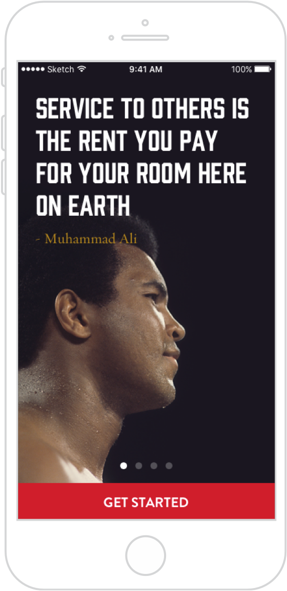 Muhammad Ali Foundation app