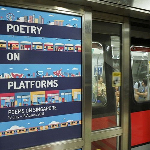 Poetry on Platforms: Poems on Singapore