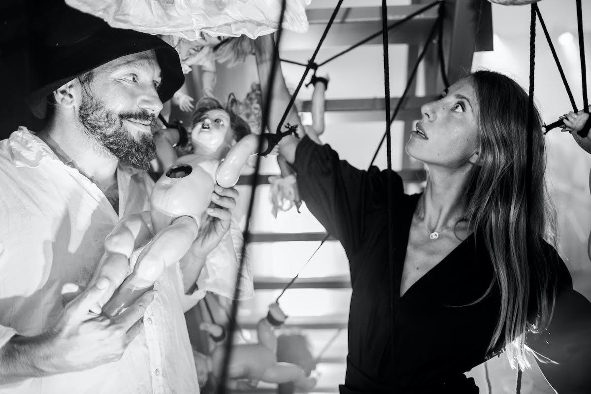 Евгений Чичваркин и Татьяна Фокина. Фото из личного архива