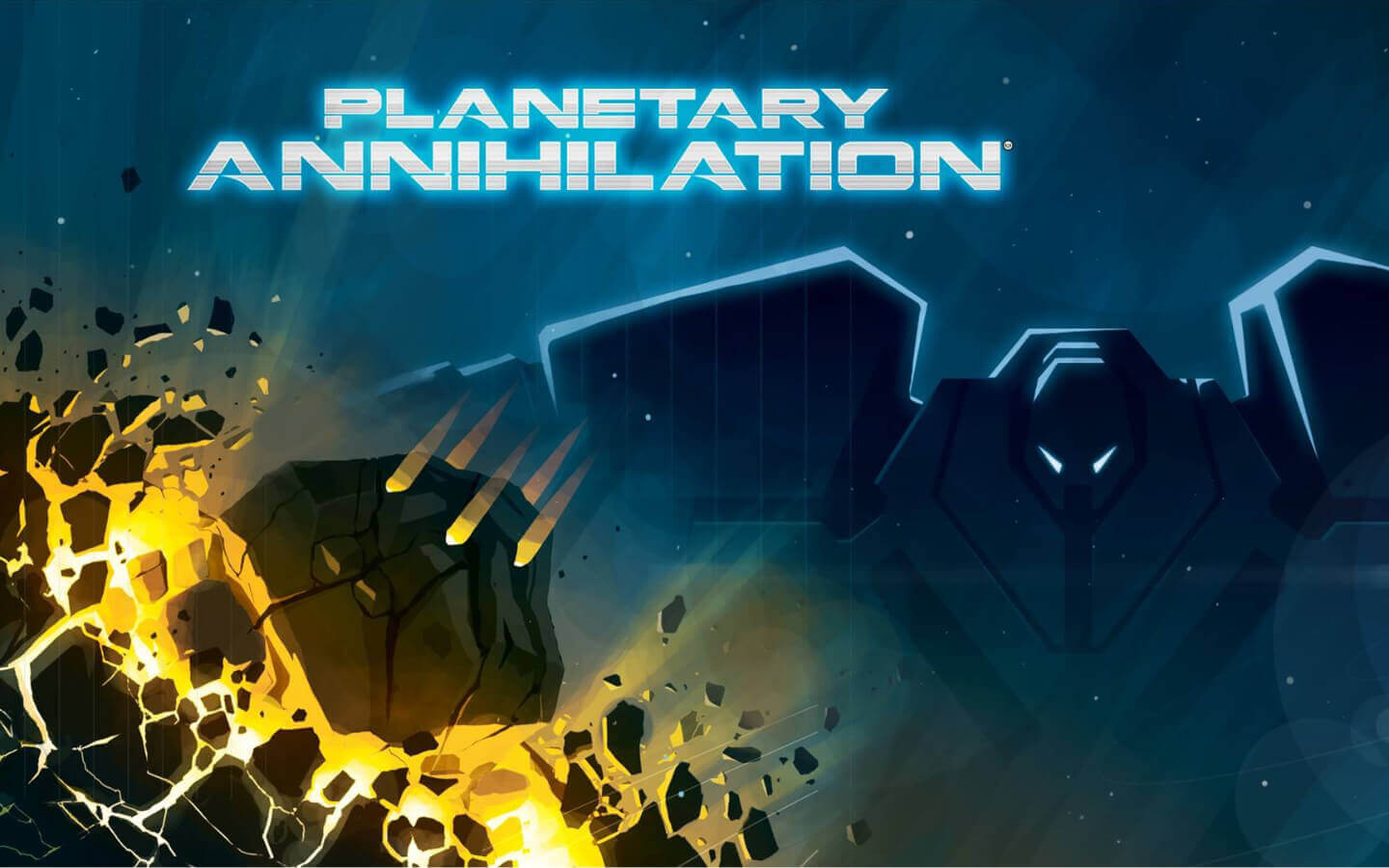 Planetary Annihilation Cover Graphic